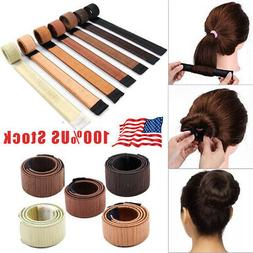 Hair Bun Twist Maker Donut Styling Braid Women Magic Accesso