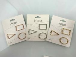 Sophi Hair Clips - Gold, Silver & Rose Gold