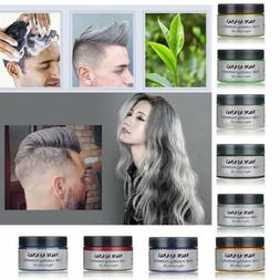 Mofajang Hair Color Wax Mud Dye Styling Cream DIY Coloring 9