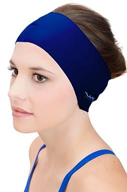 Sync Hair Guard & Ear Guard Headband - Wear Under Swim Caps