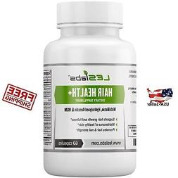 Hair Health - Natural Supplement for Faster Hair Growth and