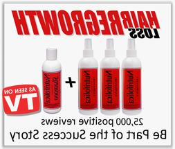 HAIR LOSS REGROWTH NUTRIFOLICA+SHAMPOO REGROW TREATMENT for