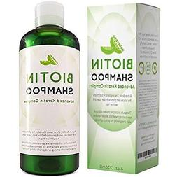 Hair Loss Shampoo for Men and Women - DHT Blocker - Biotin f