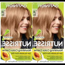 Garnier Hair Color Nutrisse Nourishing Creme, 80 Medium Natu