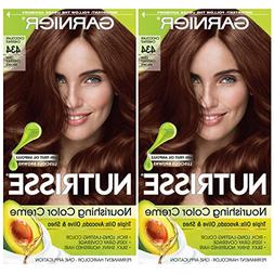 Garnier Hair Color Nutrisse Nourishing Creme, 434 Deep Chest