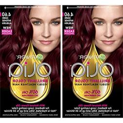 Garnier Hair Color Olia Oil Powered Permanent, 4.60 Dark Int