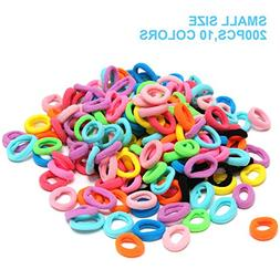 200 Pack HBY Hair Accessories Hair Ties For Women Girl Hair