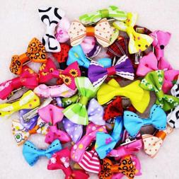 Handmade Products For Dogs Bow Hair Clips Pet Grooming Acces