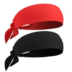 Head Tie Sports Headband Ninja Bandana & Karate Tie Back Hai