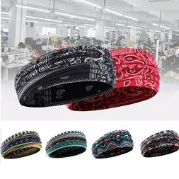 Headbands for Women Boho Floal Style Head Wrap Hair Band Yog