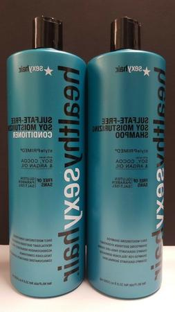 Healthy Sexy Hair Sulfate-Free Soy Moisturizing Duo Pack - 3