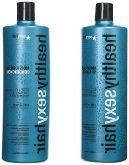 Healthy Sexy Hair Sulfate-Free Soy Moisturizing Shampoo Cond