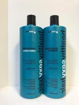 Healthy Sexy Hair Moisturizing Shampoo and Conditioner Liter