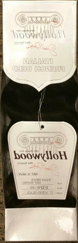 Hollywood 100% Human Hair for Weaving - AMERICAN FRENCH DEEP