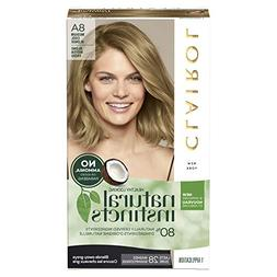 Clairol Natural Instincts, 8a Medium Cool Blonde, Linen, 3 C