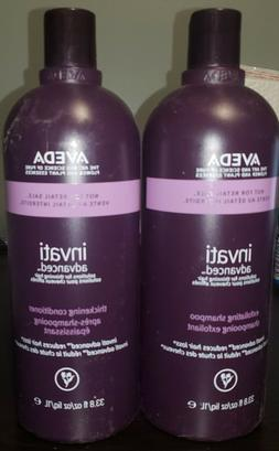 AVEDA Invati solutions for thinning hair 1 LITER SET Shampoo
