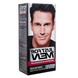 Just For MEN Shampoo-In Hair Color  Natural Real Black
