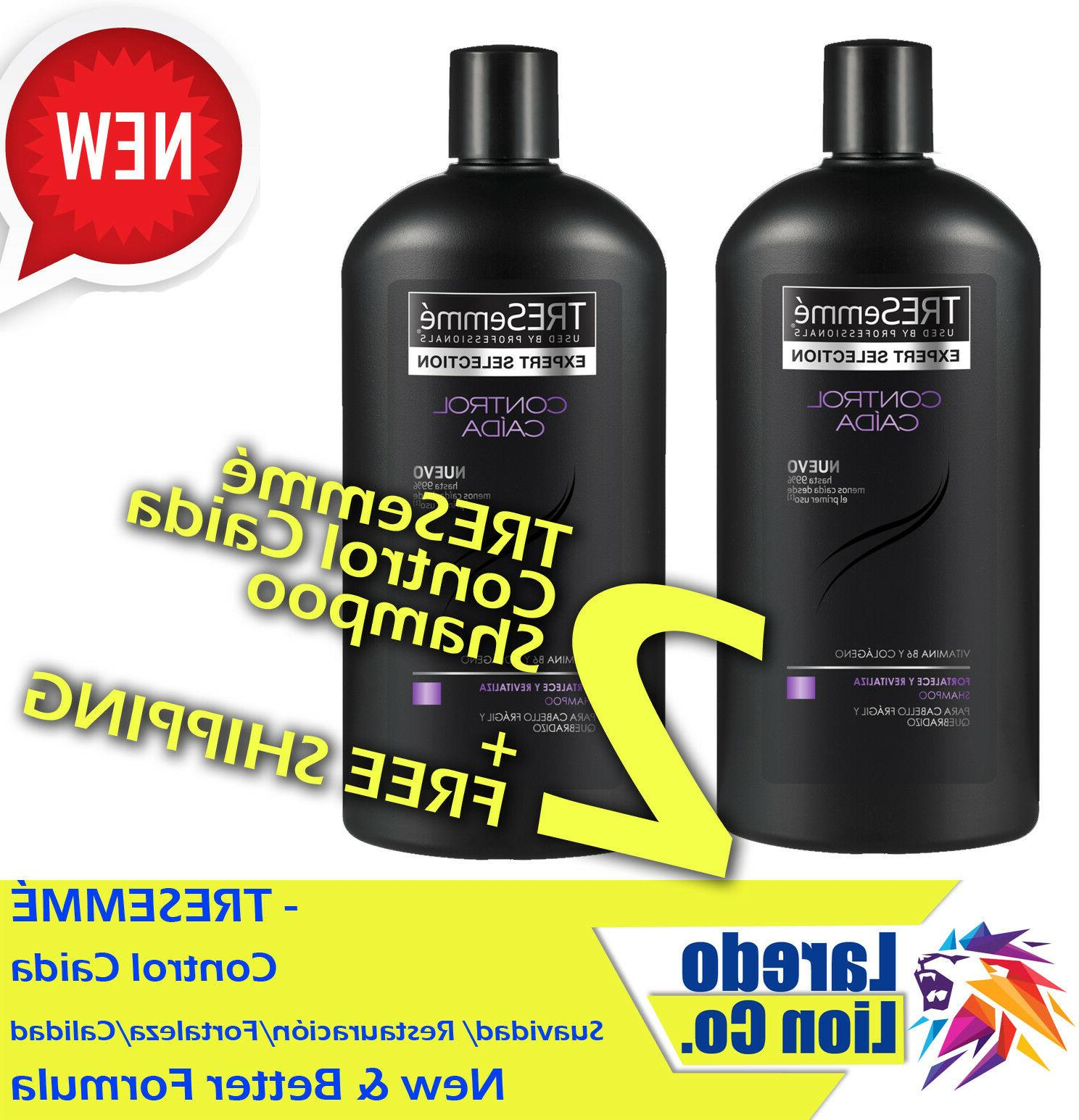 2 TRESemme Control Caida / Hair Fall Loss Defense Shampo 750