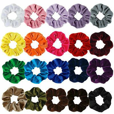 Hair Ring Velvet Scrunchie Rubber