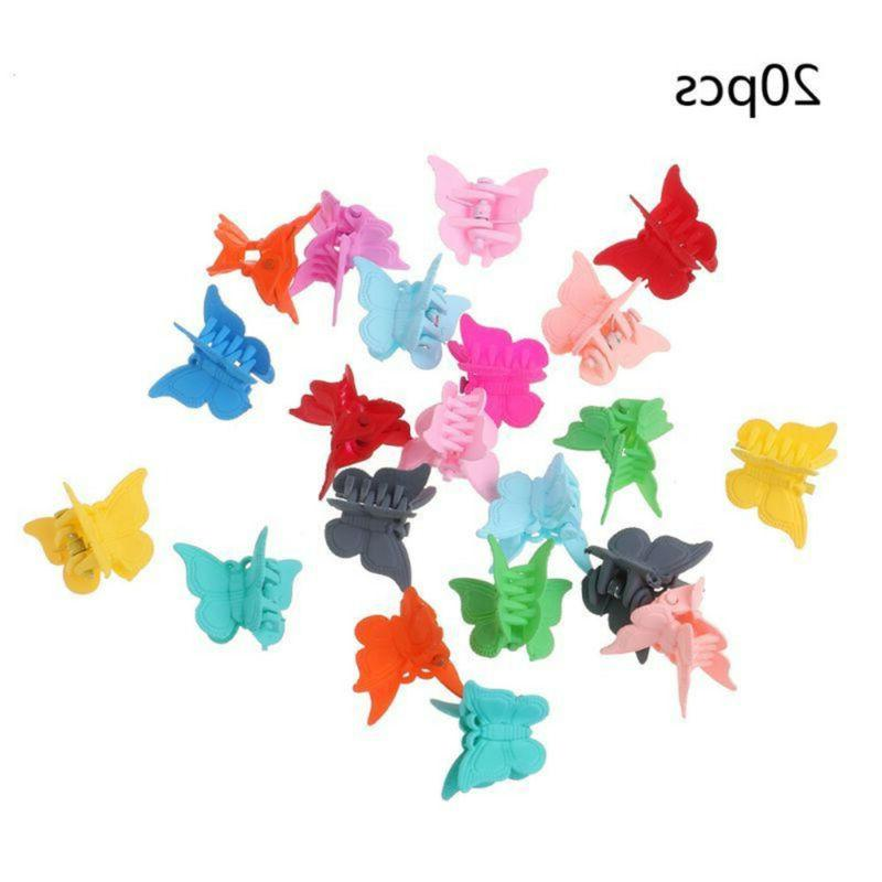 20PCS Butterfly Hair Mini Hairpin Women Girls Hair Clip