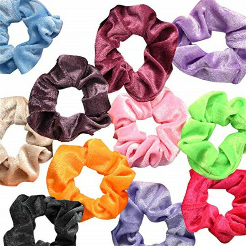 36 Pcs Elastic Hair Bands Scrunchy Accessories