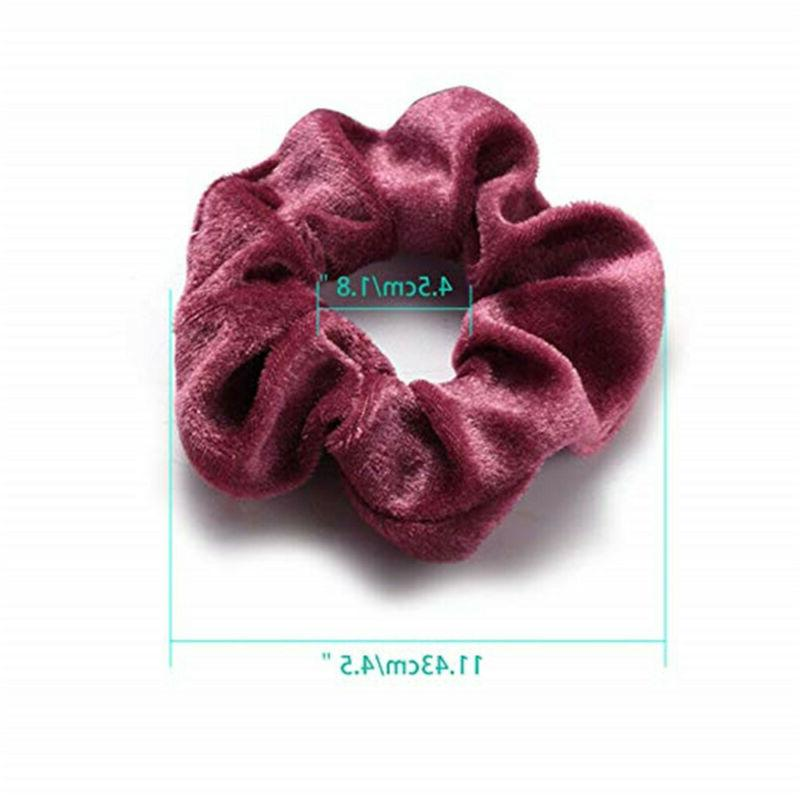 36 Pcs Elastic Hair Scrunchy Women or Girls Hair