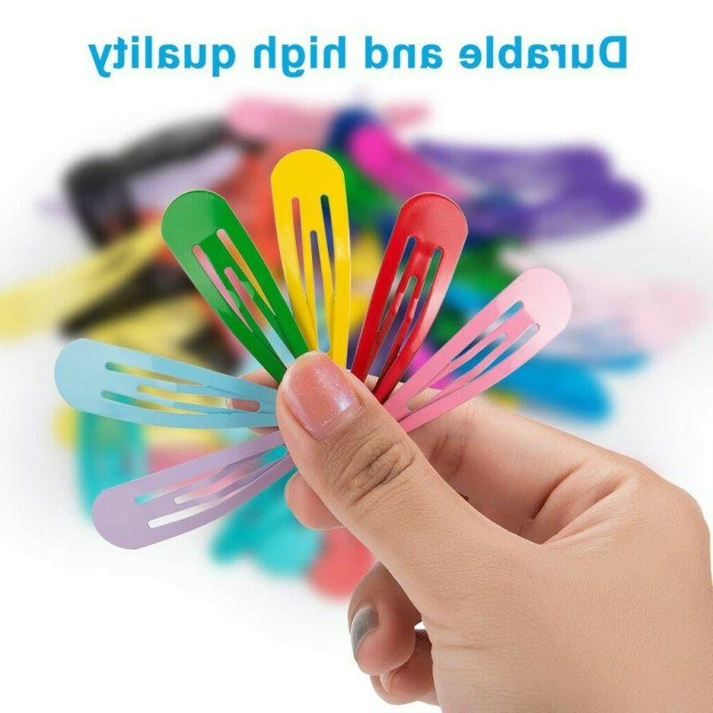 "60pcs 2"" Clips Hair Pins Metal Barrettes NEW"