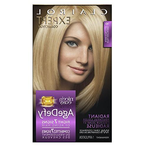 Clairol Age Defy Expert Collection, 10 Extra Light Blonde, P