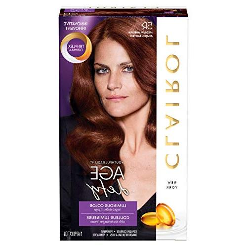Clairol Age Defy Expert Collection, 5R Medium Auburn, Perman