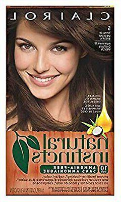 Clairol Natural Instincts Hair Color, Non-Permanent, Medium