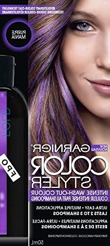 Garnier Hair Color Color Styler Intense Wash-Out Color, Purp