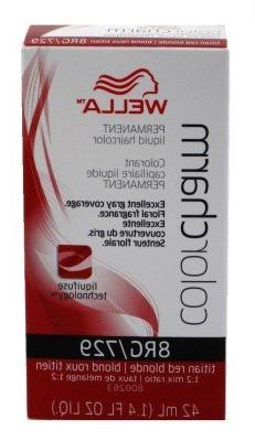 Wella Cc Liquid #729/8Rg Titian Red Blonde Haircolor