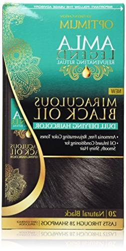Optimum Salon Haircare Amla Legend Miraculous Black Oil Dull