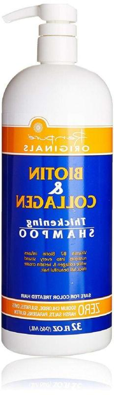 Biotin and Collagen shampoo and conditioner for Hair growth,