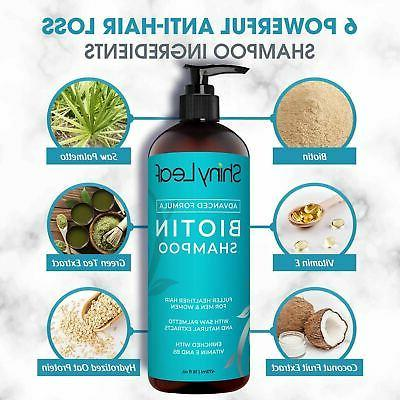 Anti Loss Biotin Shampoo For Hair with DHT