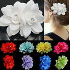 Bridal Flower Hairpin Wedding Bridesmaid Party Accessories H