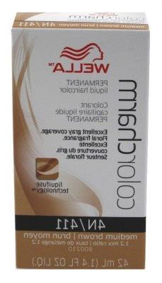 Wella Color Charm Liquid #0411/4N Medium Brown