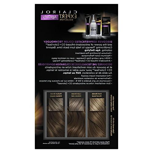 Clairol Age Defy Collection, Ash Brown,