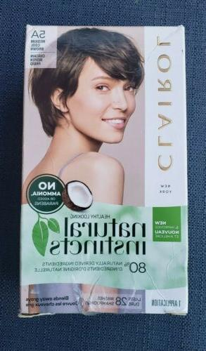 Clairol Natural Instincts Haircolor, 24 Medium Cool Brown 1
