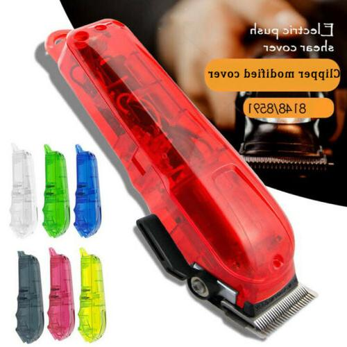 PC Material Hair Clipper Front & Back Transparent Cover Shel