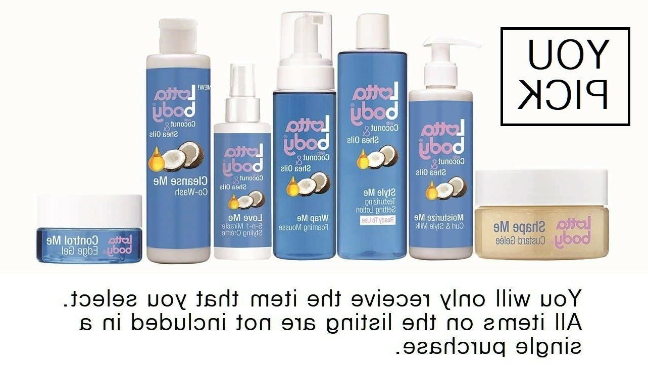 Lottabody  Coconut & Shea Oils Hair Care Products  - FREE SH