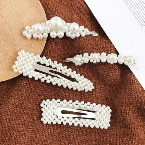 Elegant Barrettes Hair Clip Headdress for