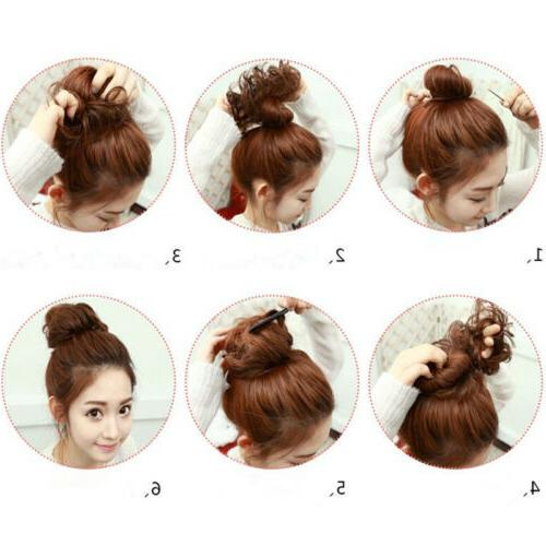 Fast Messy Scrunchie Extensions Women