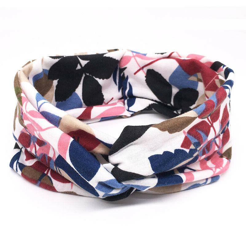 Flower Headband Elastic For Turban