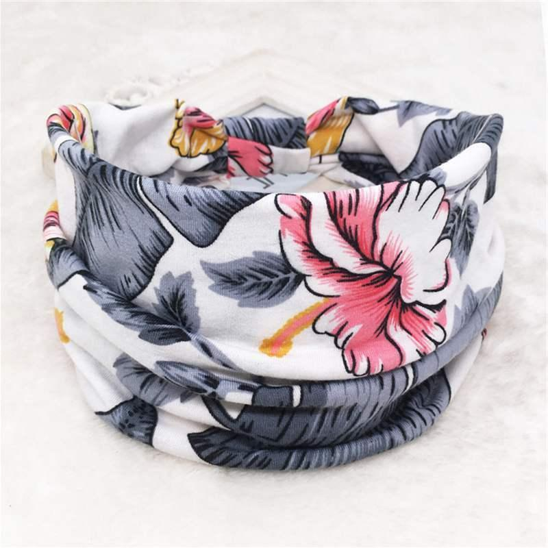 Flower Women Headband Elastic For Turban