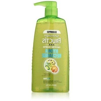 Garnier Fructis Fortifying Shampoo Pump, Hydra Recharge For