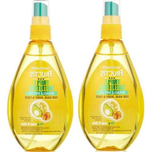 fructis miracle dry oil triple nutrition