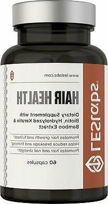 Hair Health Natural Supplement for Faster Hair Growth and Im