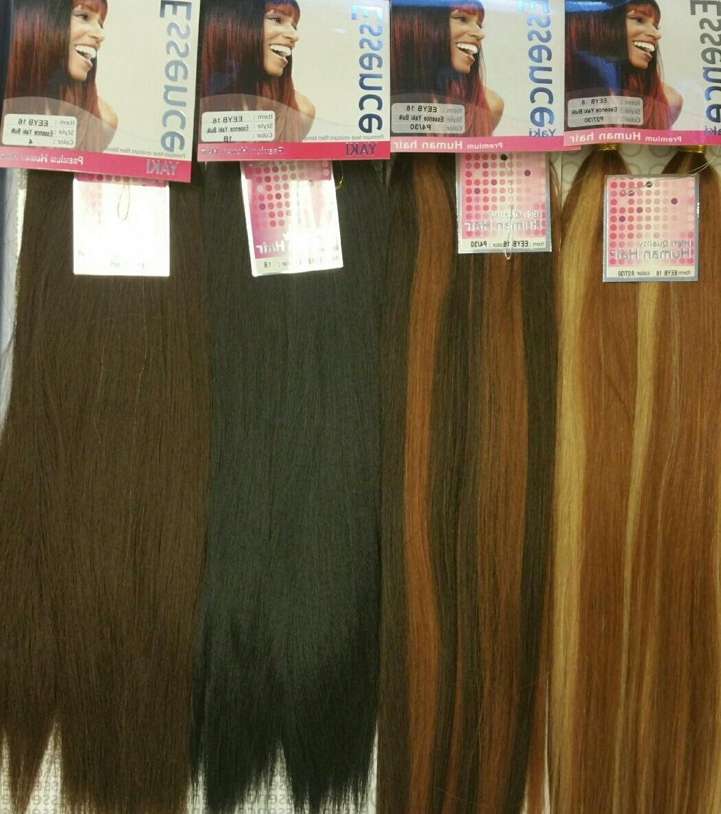Human Quality Hair for Braiding ESSENCE YAKI BULK