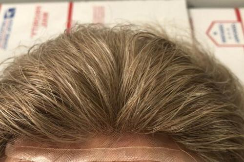 lace hair piece for men blonde 6